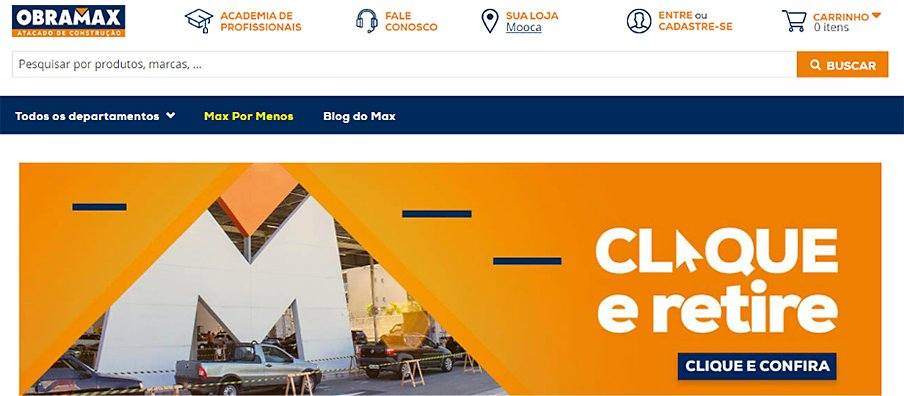 Obramax website